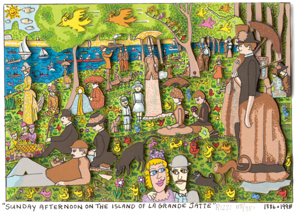 Sunday afternoon on the Island of a Grande Jatte