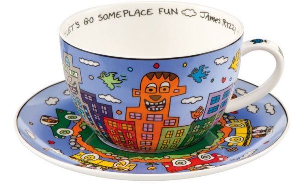 Lets go out for fun - Cappuccino Tasse