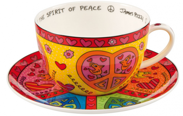 The spirit of peace - Cappuccino Tasse